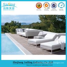 Luxury PE Wicker Rattan Garden Outdoor Indoor Lounge Furniture Setting