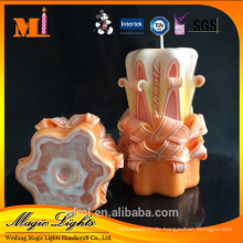 After-sales Support Great Craft Hand Carved Candles For Sale Price