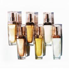 Vegan Wholesale Cosmetics Cream Face Body Highlighter Glitter Makeup Private Label Liquid Highlighter