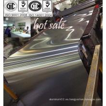 Hoja de aluminio 8011 del precio de fábrica para el fabricante del casquillo de los pp en China