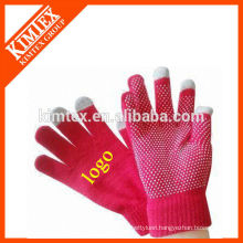 Fashion smart wool touchscreen gloves