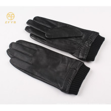 2014 Meilleures ventes, hommes, style, style, cuir, intelligent, doigt, gants tactiles