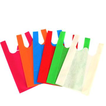 Customize Non Woven Vest Shopping Bags