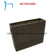 F- Outdoor Street Rattan Furniture Wicker Flower Pot (L-002)