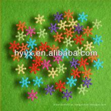 Copo de nieve bolas de bricolaje fabricación de joyas