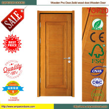 Puerta de madera de estilo clásico ecológico