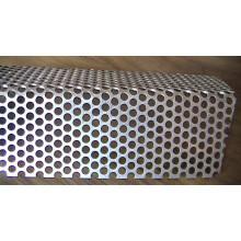 Malha de alumínio perfurada anodizada / malha metálica perfurada