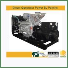 Type de sortie triphasé AC Avec génératrices diesel perkins à démarrage électrique 1000kw / 1250kva