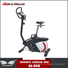 Bicicleta magnética vertical interior con volante (ES-846)