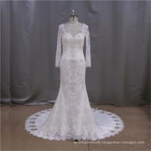2015 Hot Selling elegant red wedding dress for sale