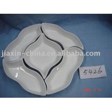 Plaque de collation en céramique JX-BS001