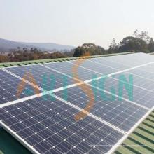 Panneaux solaires pour la centrale solaire