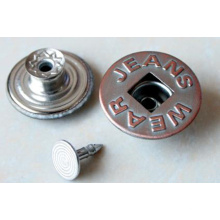 Herstellung von Metallknöpfen: Jeans Snap Fasteners Schaft Zink Legierung Strass Kupfer Buttons