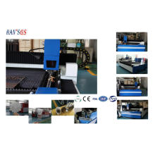 High Speed Laser Cutting Machine For Metal Sheet and Tube Pipe