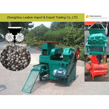 La Malaisie Briques de charbon de bois de forme diverse extrudent la machine de boule de charbon