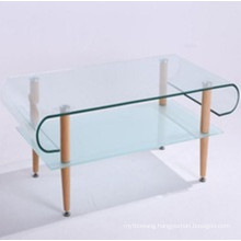 Curved/Bent Modern Type Tempered Glass for Coffee Table