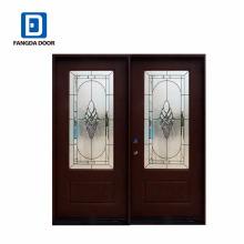 Фанда высокое качество новый двойной дверных конструкций для домов