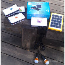 Solar Power LED Lighting Kits System with Every Parts Produced in Our Factory