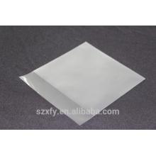 Матовый поверхностный пластиковый пакет для упаковки CD дисков