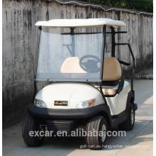 Carro de golf eléctrico blanco de 2 seaters caliente para la venta
