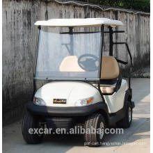 2 seaters white electric golf cart hot for sale