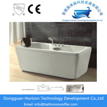 Square acrylic soaker tubs deep bathtubs