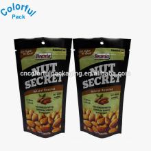 Benutzerdefinierte geröstet Cashew-Nuss-Kunststoff-Verpackungen stehen auf Taschen