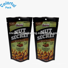 Custom roasted cashew nut plastic packaging stand up bags
