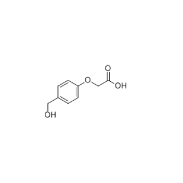 4-(Hydroxymethyl) Phenoxyacetic 산 CAS 68858-21-9