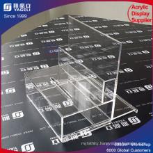 Wholesale Acrylic Donation Box with Brochure Holder