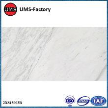 Azulejo de piso de cerámica de mármol pulido impreso ligero