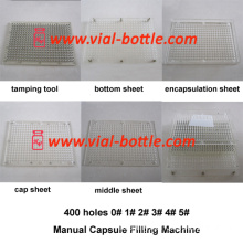 Manual Capsules Filling Machine 400 Holes (HVCM002)