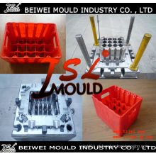 OEM Custom Injection Plastic Beer Bottle Crate Mold
