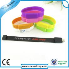 Top Grade Silicone Bracelet Custom USB