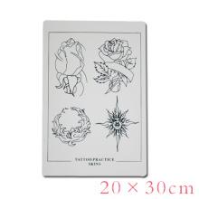 Tattoo Flower Practice Skin Suministro de tatuajes