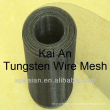 Anping tungstênio planície tecido cinto de malha de arame