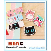 Mini marque-page magnétique mignon dessin animé mignon