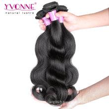 Cheveux malaisiens vierges non traités de qualité supérieure