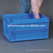 Industrie logistique du conteneur pliable
