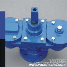 Válvula de lanzamiento del aire de la bola del hierro del doble de la bola doble Ggg40 Pn16 Ss316 del hierro dúctil