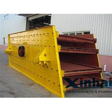 Low Noise Circular Vibrating Screen Machine Single Deck For
