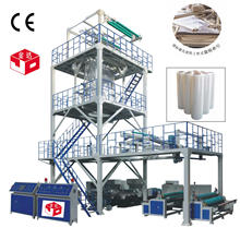 3 or 5 Layer Co-Extrusion Film Blowing Machine (SJ-500-1500)