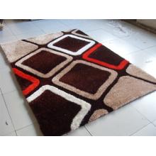 Polyester Silk 3D Shaggy Carpets