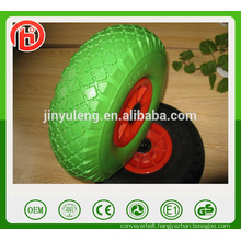 10 inches small 10*3.00-4 pu foam solid rubber wheel , Equipment accessories,can use for Trailer, castor, garden tools