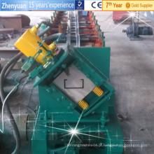 Máquina de formação de rolo de purline de máquina de laminação de perfil c