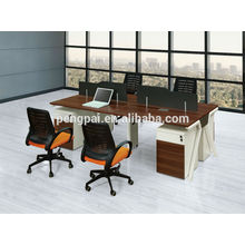 4 person staff desk with drawer