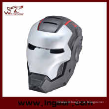 Ire tactique Mesh Iron Man 3 en fibre de verre Airsoft masque