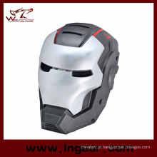 Ire tático malha ferro homem 3 máscara de Airsoft da fibra de vidro