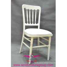 white chateau chair with cushion, banquet dining chateau chair