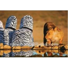 Zebra tampa da cadeira, tampa da cadeira impressão animal, CTS834, cabe todas as cadeiras, casamento, banquete, capa de cadeira hotel, sash e mesa pano